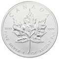 2012 1oz Canadian Maple Silver Coin
