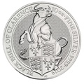 10oz Silver Coin, The Black Bull of Clarence - Queen's Beast 2019