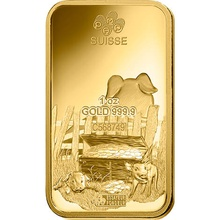 PAMP 1oz 2019 Year of the Pig Gold Bar