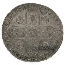 1741 George II Silver Crown - D. QVARTO