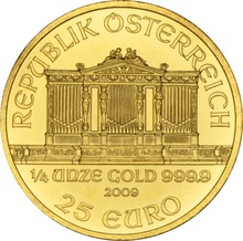 2009 Quarter Ounce Gold Austrian Philharmonic