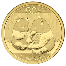 2009 1/10 oz Gold Chinese Panda Coin