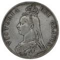 1890 Victoria Double Florin - Fine