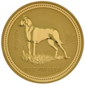 2006 10oz Year of the Dog Lunar Gold Coin
