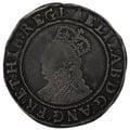 1582-3 Elizabeth I Silver Shilling mm Bell