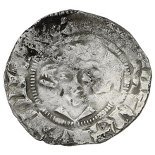 1307-1327 Edward II Silver Penny. Bishop Beaumont. Class 14