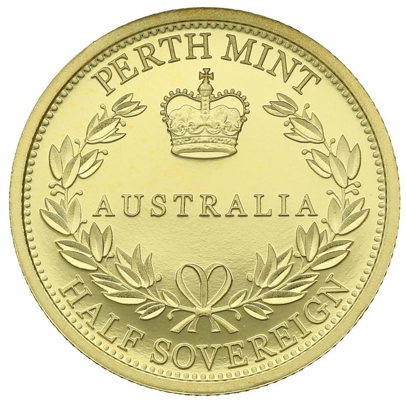 2016 Australian Gold Proof Half Sovereign - Elizabeth II Old Head