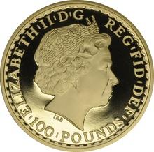 2008 One Ounce Proof Britannia Gold Coin