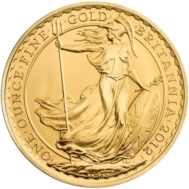 2012 Gold Britannia One Ounce Coin