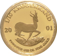 2001 Proof Tenth Ounce Krugerrand