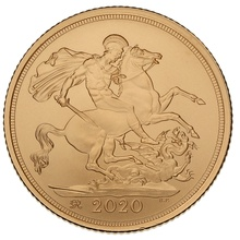 2020 Gold Sovereign - Brilliant Uncirculated (Boxed)