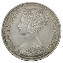 1880 Victoria Silver Florin