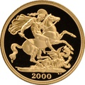2000 £2 Two Pound Proof Gold Coin (Double Sovereign)