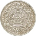 1928 George V Proof Crown (Christmas Crown) - Good Very Fine
