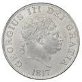 1817 George III Silver Halfcrown