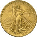 1910 $20 Double Eagle St Gaudens Gold coin Philadelphia
