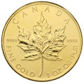 2009 1oz Canadian Maple Gold Coin