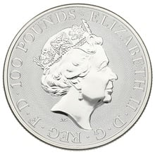 2019 1oz Platinum Coin, The Unicorn - Queen's Beast Gift Boxed