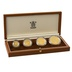 1992 Belize 50th Anniversary Battle of El Alamein 4-Coin Gold Proof Set Boxed