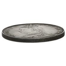 1889 Queen Victoria Silver Crown - Good Very Fine