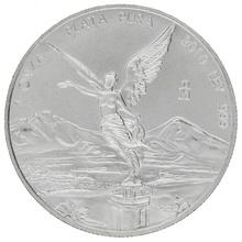 2010 1oz Mexican Libertad Silver Coin