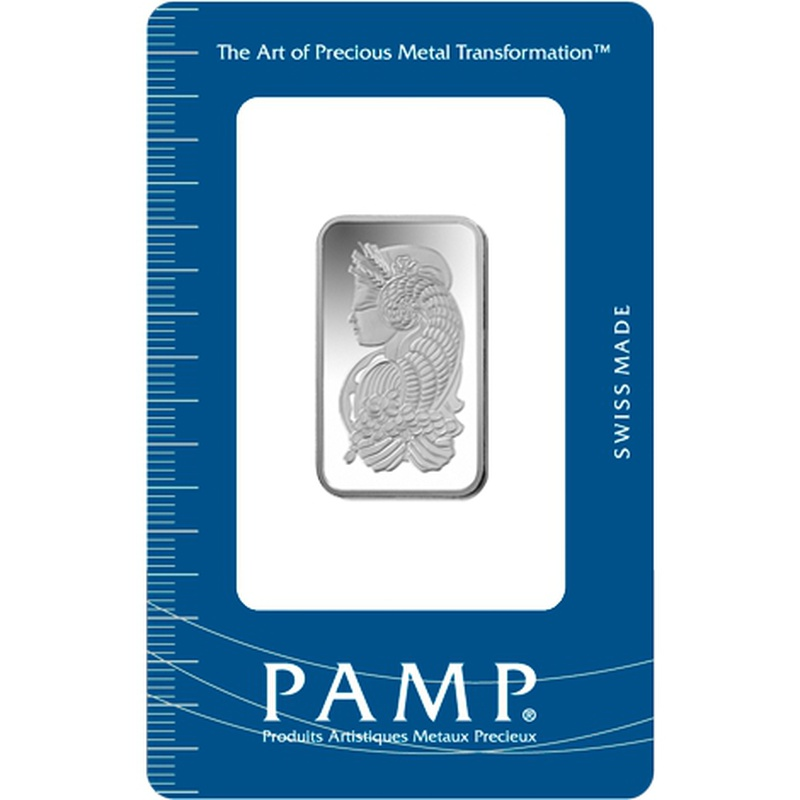 PAMP 10 Gram Silver Bar Minted