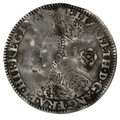 1562 Elizabeth I Silver Threepence mm Star