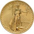 1990 Half Ounce Eagle Gold Coin MCMXC