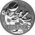 2018 Iron Man 1oz Silver Coin