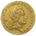 1718 George I Gold Quarter Guinea