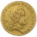 1718 George I Gold Quarter Guinea