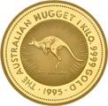 1kg Gold Australian Nugget 1995