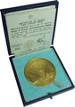 1965 Battle of Britain 25th Anniversary Gold Medal Boxed
