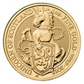 1oz Gold Coin, Unicorn of Scotland - Queen's Beast 2018