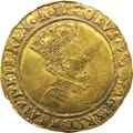 James I Half Unite Gold Coin - Fine