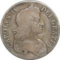 1679 Charles II Crown - Fine