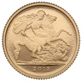 2013 Proof Quarter Sovereign