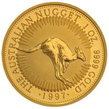 1997 1oz Gold Australian Nugget