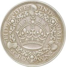 1928 George V Proof Crown (Christmas Crown) - Good Very Fine