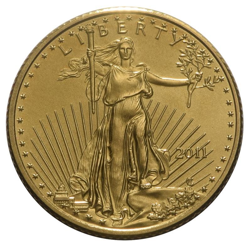 2011 Tenth Ounce Eagle Gold Coin
