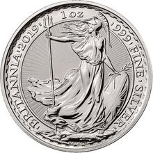 2019 1oz Silver Britannia in Gift Box