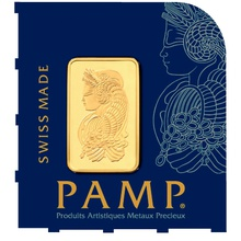 PAMP 1 Gram Gold Bar Multicard