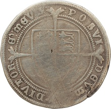 1551 Edward VI Silver Half Crown