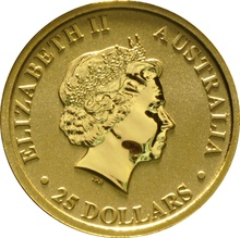 2013 Quarter Ounce Gold Australian Nugget