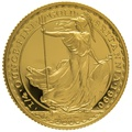 1990 Quarter Ounce Proof Britannia Gold Coin
