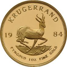 1984 1oz Gold Proof Krugerrand