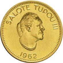 Tonga 1962 Quarter Koula Gold Coin