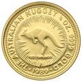 1989 Quarter Ounce Gold Australian Nugget