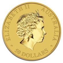 2016 Half Ounce Gold Australian Nugget
