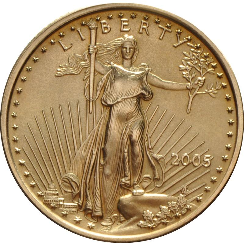 2005 Quarter Ounce Eagle Gold Coin